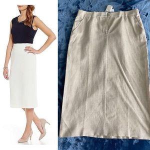 NWT MaxMara Midi Pencil Skirt size 10/44